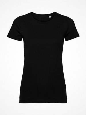 Russell Pure Organic Authentic Women T-shirt Black