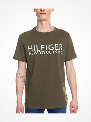 Tommy Hilfiger Modern Classic Tee Logo Shirt Olive