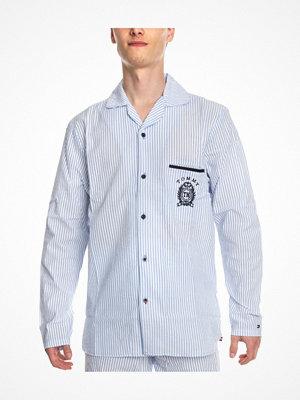Tommy Hilfiger Tommy Sleep Pyjama Shirt Lt blue Stripe