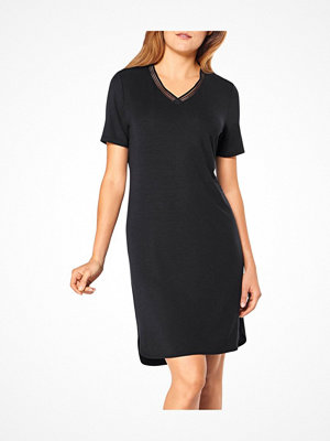 Triumph Lounge Me Climate Control Night Dress Black