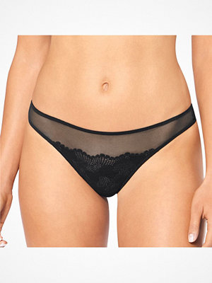 Triumph Lace Spotlight Thong Black