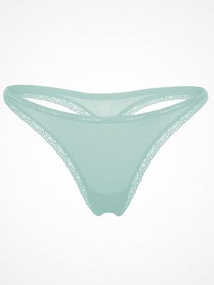 Calvin Klein Bottoms Up Thong Turquoise