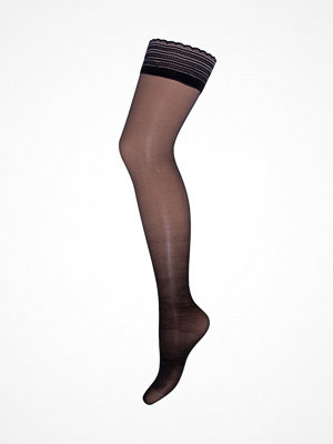 Strumpbyxor - Decoy 20 Den Silk Look Stay-Up Tights Black