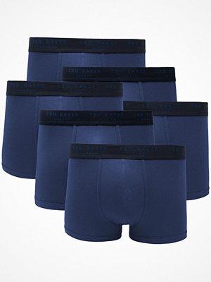 Kalsonger - Ted Baker 6-pack 24 7 Basics Trunk Blue