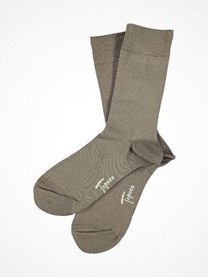 Topeco Men Sock Solid Bamboo Beige