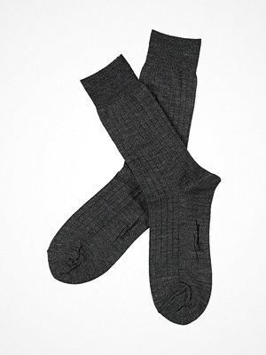 Topeco Men Wool Rib Socks Darkgrey