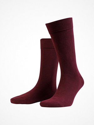Strumpor - Amanda Christensen 3-pack True Combed Cotton Sock Red