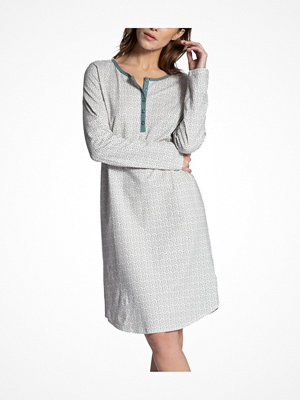 Calida Late Summer Dream Nighdress White Pattern-2