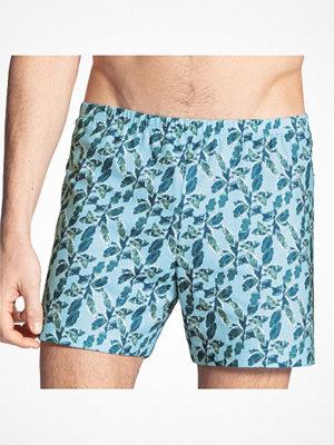 Calida Prints Cotton Boxer Shorts Blue Pattern