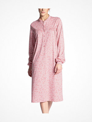 Calida Soft Cotton Nightdress Long Sleeve Pink Pattern