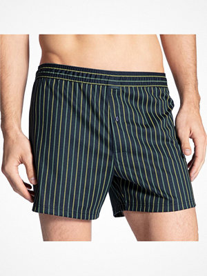 Calida Urban Boxer Shorts With Fly Striped-2