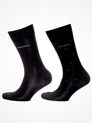 Strumpor - Hugo Boss 2-pack BOSS Minipattern socks Black