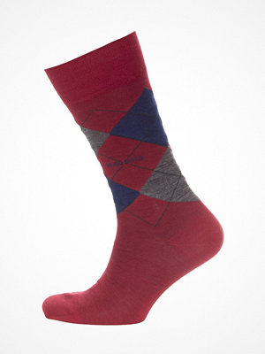 Strumpor - Hugo Boss BOSS John RS Argyle Wool Sock Red