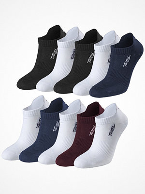 Strumpor - Pierre Robert 10-pack Women Low Cut Socks Multi-colour