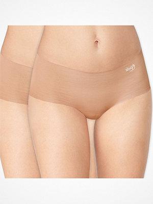Sloggi 2-pack ZERO Microfibre Shorts Beige