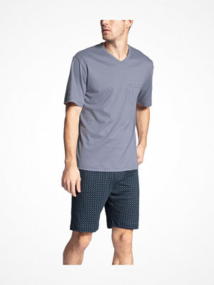 Calida Relax Streamline 2 Short Pyjama Grey