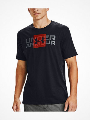 Pyjamas & myskläder - Under Armour Box Logo Wordmark T-Shirt Black