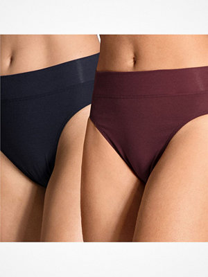 Calida 2-pack Elastic Briefs Navy/Red