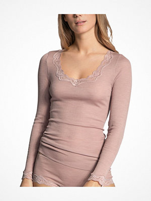 Calida Richesse Lace Long-sleeve Top Ancientpink