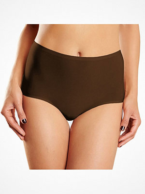 Chantelle Soft Stretch Full Brief Plus Size Darkbrown