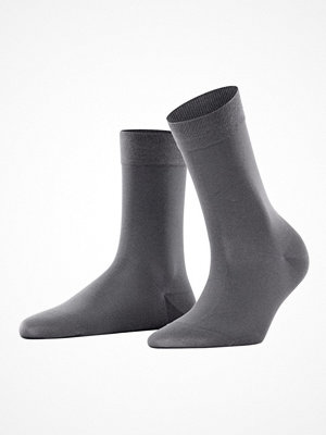 Strumpor - Falke Women Cotton Touch Darkgrey