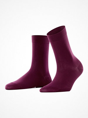 Strumpor - Falke Women Cotton Touch Wine red