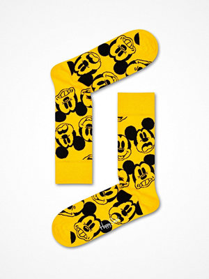 Strumpor - Happy Socks Happy Socks Disney Face It Mickey Sock Yellow