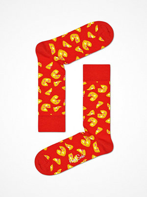 Strumpor - Happy Socks Happy Socks Pizza Sock Red Pattern-2