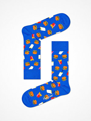 Strumpor - Happy Socks Happy Socks Hamburger Sock Blue