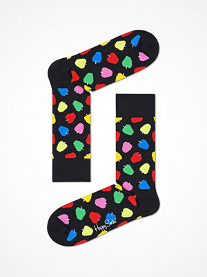 Strumpor - Happy Socks Happy Socks Apple Sock Black pattern