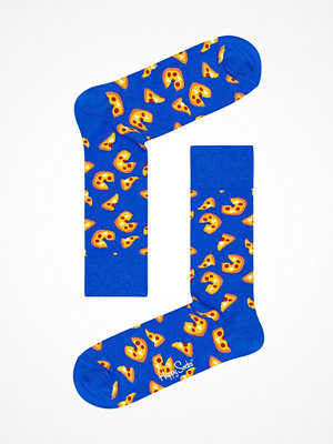Strumpor - Happy Socks Happy Socks Pizza Sock Blue Pattern