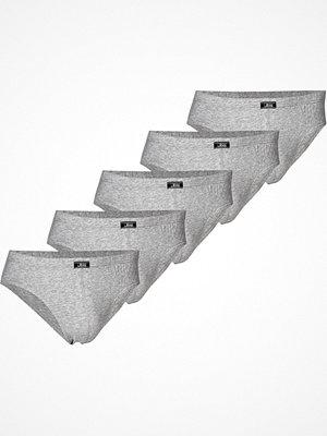 Kalsonger - JBS 5-pack Organic Cotton Mini Slip Brief Grey