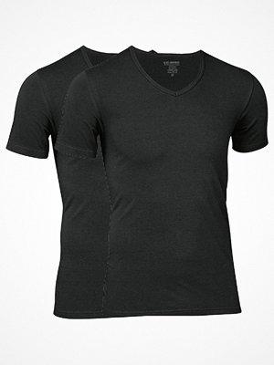 JBS 2-pack Bamboo T-shirt V-Neck Black