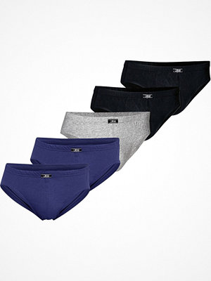 JBS 5-pack Organic Cotton Mini Slip Brief Multi-colour