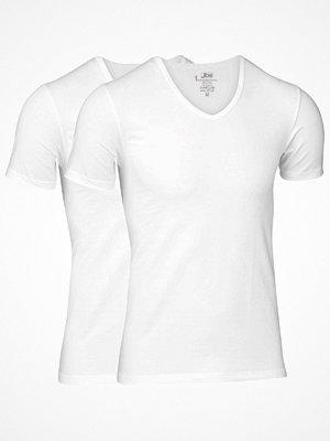 JBS 2-pack Bamboo T-shirt V-Neck White