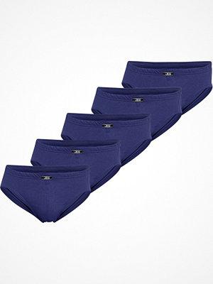 Kalsonger - JBS 5-pack Organic Cotton Mini Slip Brief Blue