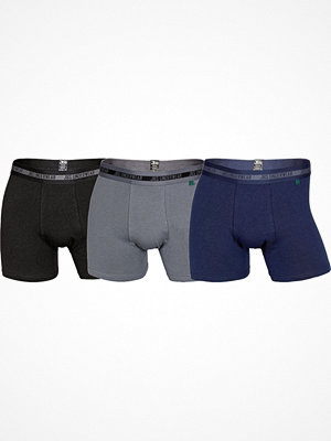 JBS 3-pack Bamboo Boxers Multi-colour