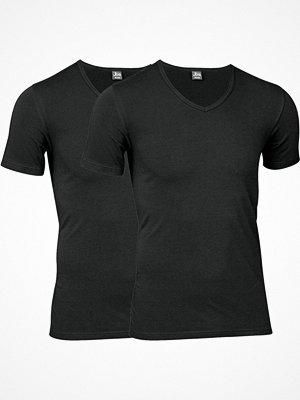 JBS 2-pack Organic Cotton V-Neck T-shirt Black