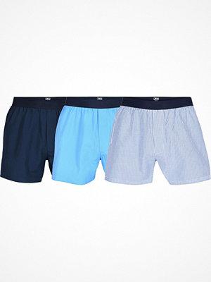 JBS 3-pack Organic Cotton Boxershorts Blue