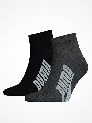 Strumpor - Puma 2-pack Lifestyle Quarter Sock Black