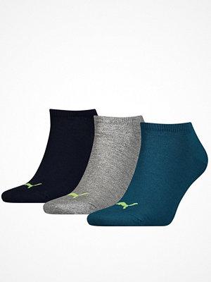 Puma 3-pack Sneaker Socks Petrol
