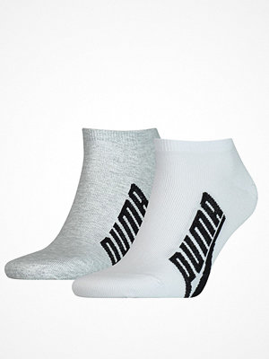 Strumpor - Puma 2-pack Lifestyle Sneaker Sock White/Grey