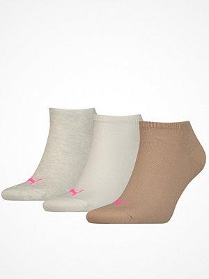 Puma 3-pack Sneaker Socks Beige