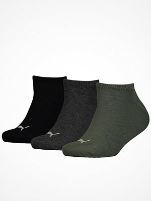 Strumpor - Puma 3-pack Sneaker Socks Black/Green