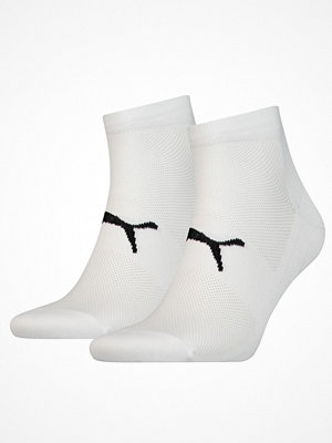 Strumpor - Puma 2-pack Performance Lightweight Quarter Sock White
