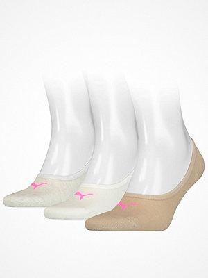 Puma 3-pack Footie Socks Beige
