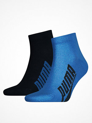 Strumpor - Puma 2-pack Lifestyle Quarter Sock Blue