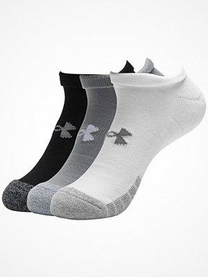 Strumpor - Under Armour 3-pack HeatGear Low Cut Sock Grey/Black