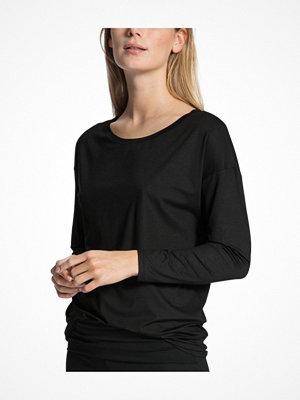 Pyjamas & myskläder - Calida Favourites Essentials Shirt Long Sleeve 137 Black