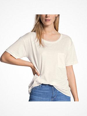 Pyjamas & myskläder - Calida I Love Nature Shirt Short Sleeve Ivory